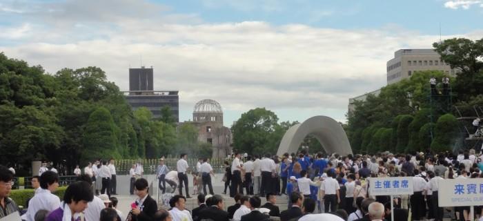 L'AFCDRP salue la visite du Président Obama à Hiroshima