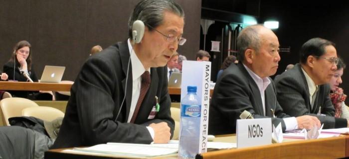 OEWG: Maires pour la Paix mobilisé