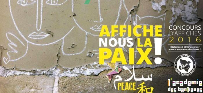 Affiche-nous la Paix !