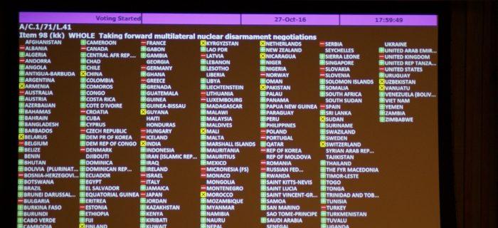 Vote de la résolution L.41: message de Kazumi Matsui