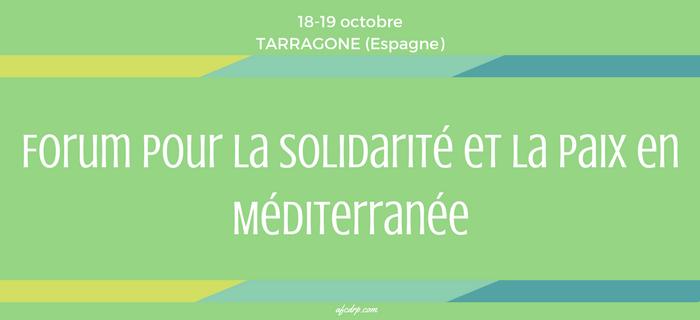 Forum pour la Solidarité et la Paix en Méditerranée