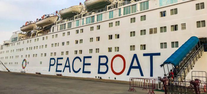 Le Peace Boat à Marseille en 2019