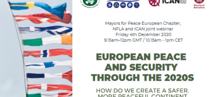 Création de la nouvelle section européenne des Maires pour la Paix.
