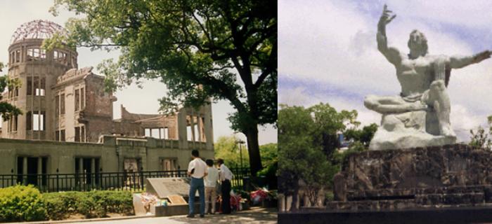 """Tribune AFCDRP-Maires pour la Paix """"Arme nucléaire. Hiroshima et Nagasaki, plus jamais ça"""""""
